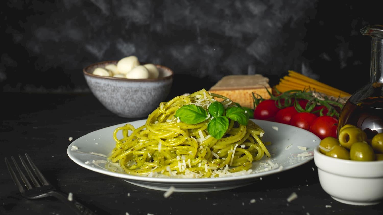 sauce pesto pour pâtes