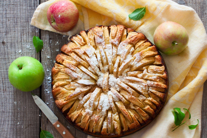 tarte aux pommes suisse moelleuse