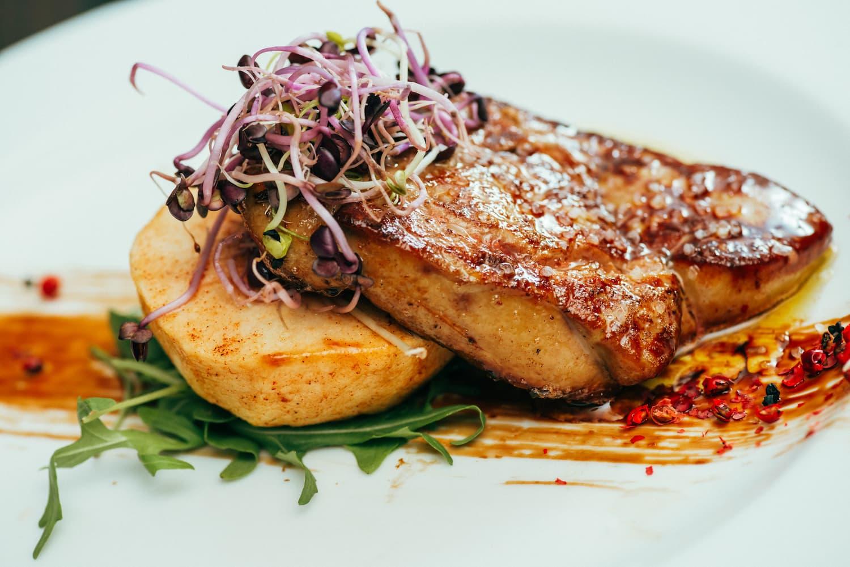 accompagnement foie gras mi cuit
